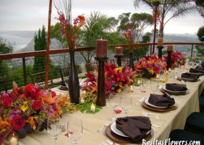 Table Setup For Wedding